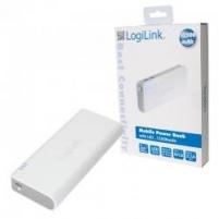 Nešiojamas įkroviklis Logilink power bank, 12500mAh, LED žibintuvėlis