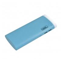 Nešiojamas įkroviklis Power bank Vakoss TP-2595B, Li-Ion, 13000mAh, LED žibintuvėlis, mėlynas Išorinės baterijos (Power bank)