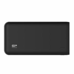 Nešiojamas įkroviklis Silicon Power S200 20000mAH, dual output USB, LED, juodas