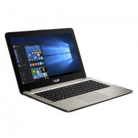 "Nešiojamas kompiuteris Asus VivoBook X441NA Chocolate Black, 14 "", HD, 1366 x 768 pixels, Gloss, Intel Celeron, N3450, 4 GB, DDR3 on board, SSD 128 GB, Intel HD, Without ODD, Endless OS, 802.11 ac, Bluetooth version 4.0, Keyboard language English, W"