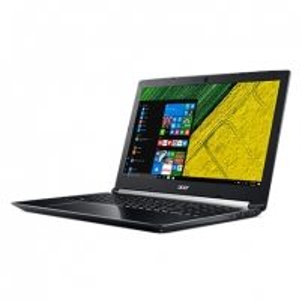 """Nešiojamas kompiuteris Acer Aspire 7 A715-71G Black, 15.6 """", IPS, Full HD, 1920 x 1080 pixels, Matt, Intel Core i7, i7-7700HQ, 8 GB, DDR4, HDD 1000 GB, 5400 RPM, SSD 128 GB, NVIDIA GeForce 1050 Ti, GDDR5, 4 GB, No ODD, Windows 10 Home, 802.11ac, Blu Nešiojami kompiuteriai"""