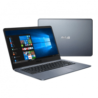 "Nešiojamas kompiuteris Asus VivoBook R420MA Gray, 14.0 "", HD, 1366 x 768 pixels, Matt, Intel Celeron, N4000, 4 GB, DDR4, Storage drive capacity 64 GB, Intel HD, Without ODD, Windows 10 Home S, 802.11 ac, Bluetooth version 4.2, Keyboard language Engl"