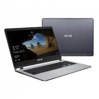 "Nešiojamas kompiuteris Asus VivoBook X507UA-EJ894T Grey, 15.6 "", FHD, 1920 x 1080 pixels, Matt, Intel Pentium, 4417U, 4 GB, DDR4, SSD 128 GB, Intel HD, Windows 10 Home, 802.11 ac, Bluetooth version 4.2, Keyboard language English, Russian, Battery wa"