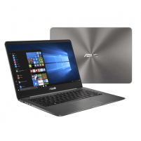 "Nešiojamas kompiuteris Asus ZenBook UX430UA Grey, 14.0 "", IPS, FHD, 1920 x 1080 pixels, Matt, Intel Core i5, i5-8250U, 8 GB, DDR3 onboard, SSD 512 GB, Intel HD, Without ODD, Windows 10 Home, 802.11 ac, Bluetooth version 4.1, Keyboard language Englis"