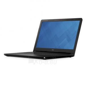 "Nešiojamas kompiuteris Dell Inspiron 15 3552 Black, 15.6 "", HD, 1366 x 768 pixels, Gloss, Intel Celeron, N3060, 4 GB, DDR3L, HDD 500 GB, 5400 RPM, Intel HD, Tray load DVD Drive (Reads and Writes to DVD/CD), Windows 10 Home, 802.11bgn, Bluetooth vers"