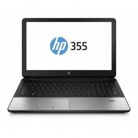 Nešiojamas kompiuteris HP 355 G2 15.6/A4-6210/4GB/500GB/RADEON R5 M24/WIN10 (J0Y61EAW10) Used Portatīvie datori