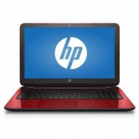 Nešiojamas kompiuteris HP Pavilion 15 15.6 Pentium N3530/4GB/500G/DVD/Win10 64Bit RED Refurbished