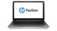 Nešiojamas kompiuteris HP Pavilion 15-AB053 15.6HD/A10-8700P/8GB/1TB/DVD/BT/Win10 Silver Refurbished