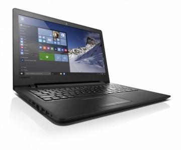 Nešiojamas kompiuteris Lenovo 100-15IBD 15,6 i5-4288U 4GB SSD 128G nVidia GT920 2GB DVD-RW NoOS Black