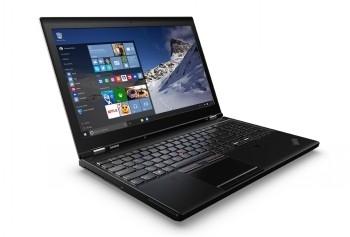 Nešiojamas kompiuteris LENOVO P50 I7/4K/16GB/512SSD/M2000/7P10P