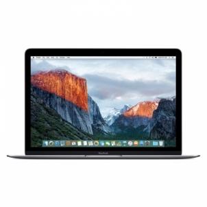 Nešiojamas kompiuteris MacBook 12 Space Grey M3-1.2/8/256/i615 Nešiojami kompiuteriai