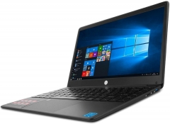 Nešiojamas kompiuteris Techbite Zin 14.1/N4000/4GB/32GB/INTELHD/W10 black Nešiojami kompiuteriai