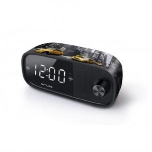Nešiojamas radijas Muse M-168NY Black, Alarm function, Clock Radio PLL Radio uztvērēji