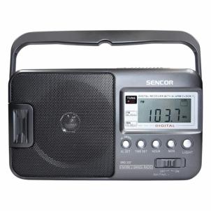 Nešiojamas radijas Radio with alarm Sencor SRD 207
