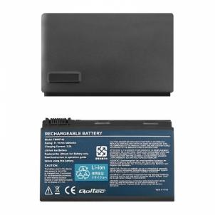 Nešiojamo kompiuterio baterija Qoltec Long Life Notebook Battery Acer Extensa 5220 5620 5520 | 11.1 V | 4400mAh