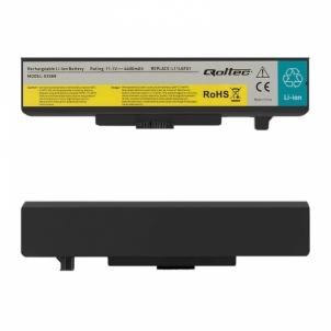 Nešiojamo kompiuterio baterija Qoltec Long Life Notebook Battery for Lenovo Y480 G480 | 4400mAh | 11.1V