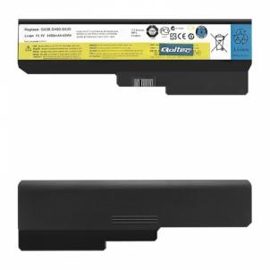 Nešiojamo kompiuterio baterija Qoltec Long Life Notebook Battery Lenovo B550 G530 G550 G555 | 11.1 V | 4400 mAh