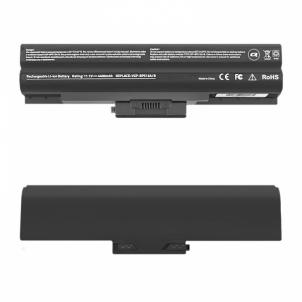 Nešiojamo kompiuterio baterija Qoltec Long Life Notebook Battery Sony Vaio VGP-BPS13 | 4400mAh | 11.1V