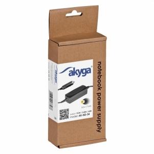 Nešiojamo kompiuterio pakrovėjas Akyga Car Notebook power supply AK-ND-33 19.5V/3.34A 65W 7.4x5.0 mm +pin DELL