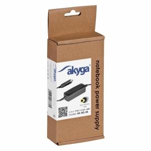 Nešiojamo kompiuterio pakrovėjas Akyga Car notebook power supply AK-ND-38 19V/3.16A 60W 5.5x3.0 mm + pin Samsung