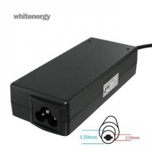 Nešiojamo kompiuterio pakrovėjas Nešiojamo kompiuterio pakrovėjas Whitenergy Multi 19V, 3.42A, 65W, 5.5x2.5
