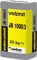 VETONIT NON-SHRINK GROUT JB 1000/3, 1000kg Special concrete mixes