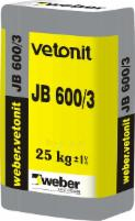 VETONIT NON-SHRINK GROUT JB 600/3 1000kg Special concrete mixes