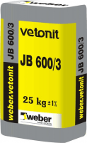 VETONIT NON-SHRINK GROUT JB 600/3 25kg Special concrete mixes