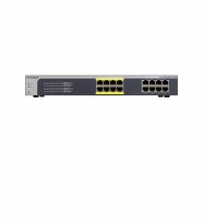Netgear ProSafe Plus 16-Port, 8xPOE+ Gigabit Rack Switch (JGS516PE)