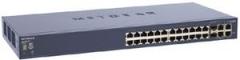Netgear Smart Switch 24x10/100 (RJ45) PoE, 2xGigabit (RJ45), 2xCombo (RJ45/SFP) Maršrutētāju datori