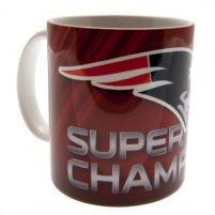 New England Patriots Super Bowl L1 Champions puodelis