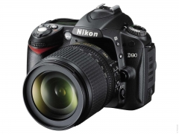 Nikon D90 Kit + AF-S DX 18-105 VR Skaitmeniniai veidrodiniai fotoaparatai