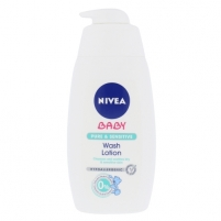 Nivea Baby Pure & Sensitive Wash Lotion Cosmetic 500ml