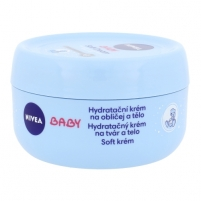 Nivea Baby Soft Cream Cosmetic 200ml Kūno kremai, losjonai