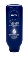 Nivea In-Shower Body Milk Nourishing Cosmetic 400ml Kūno kremai, losjonai