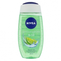 Nivea Lemongrass & Oil Shower Gel Cosmetic 250ml Dušo želė