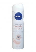 Nivea Powder Touch Anti-perspirant Spray 48H Cosmetic 150ml Deodorants/anti-perspirants