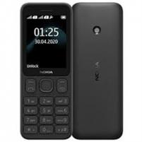 """Nokia 125 Black, 2.4 """", TFT, 240 x 320 pixels, 4 MB, Dual SIM, Mini-SIM, USB version microUSB 2.0, 1020 mAh"""