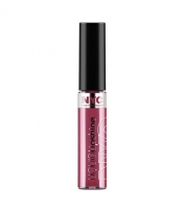 NYC New York Color Liquid Lipshine 7,2ml Rockefeller Red Blizgesiai lūpoms