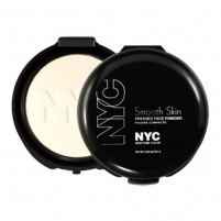 NYC New York Color Smooth Skin Pressed Face Powder Cosmetic 9,4g 701A Translucent Pudra veidui
