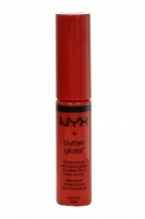 NYX Butter Gloss Cosmetic 8ml 08 Apple Strudel Blizgesiai lūpoms
