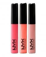 NYX Mega Shine Lip Gloss Cosmetic 11ml 101A Sugar Pie Blizgesiai lūpoms