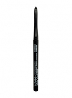 NYX Retractable Eye Liner Waterproof Cosmetic 0,31g 02 Black Akių pieštukai ir kontūrai