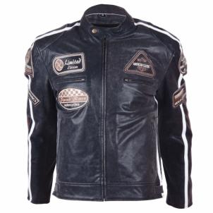 Odinis motociklininko striukė BOS 2058 Black motociklininko apranga