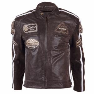 Odinis motociklininko striukė BOS 2058 Brown