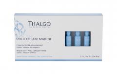 Odos serumas jautriai odai Thalgo Cold Cream Marine Multi-Soothing 7x1,2ml Kaukės ir serumai veidui