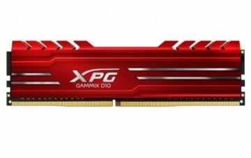 Operational memory ADATA XPG Gammix D10 DDR4 8GB 2400MHz, CL16, Red Heatsink Edition