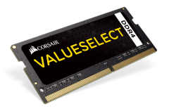 Operatyvinė atmintis Corsair ValueSelect 4GB 2133MHz DDR4 SODIMM C15 1.2 V