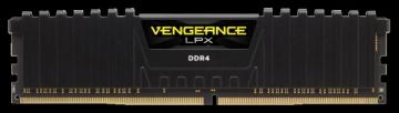 Operational memory Corsair Vengeance LPX Black Heat spreader DDR4, 2400MHz 8GB 1 x 288DIMM