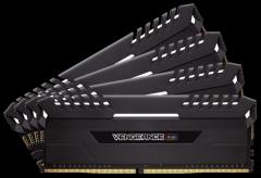 Operatyvinė atmintis Corsair Vengeance RGB black, DDR4, 3200MHz, 32GB (4 x 8GB), CL16
